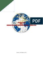FUENTES DEL DERECHO INTERNACIONAL PÚBLICO Y SU JERARQUIZACIÓN