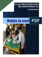 PPT 2.1 Modelos Didácticos [Modo de compatibilidad]