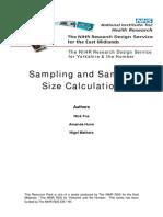 10_Sampling and Sample Size Calculation 2009 Revised NJF_WB (2)