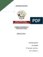 Pritam Report Internship
