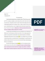 literacy narritve-comments
