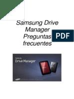 SPA_Samsung Drive Manager FAQ Ver 2.5