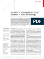 Advances in Autism Genetics.. on the Threshold of a New Neurobiology [2008]