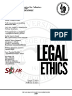 UP Bar Reviewer 2013 - Legal and Judicial Ethics
