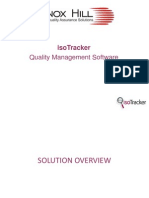 Isotracker Quality Management System QMS Overview by Lennox Hill Ltd