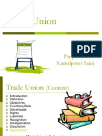 Tradeunion ACT