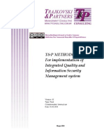 T&P Methodology for Implementation of IQISMS v3
