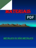 Aula 1 - Materiais