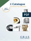GRAS Catalog 2013