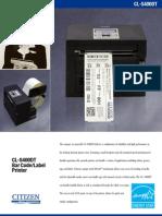 Cl-S400DT Data Sheet