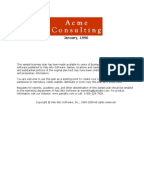 Computer consulting business plan
