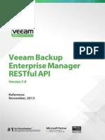 Veeam Backup 7 0 Web API