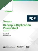 Veeam Backup 7 Powershell