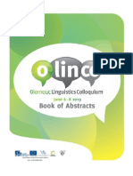 Olinco 2013 Abstracts