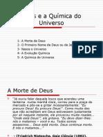 Deus e a Química do Universo
