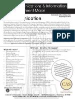 Telecom and Information Manage. Major (Fall 2013)