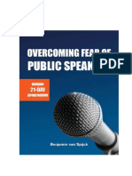 Overcoming Fear of Public Speaking in 21 Days