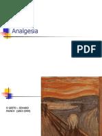 5. Analgesia e Analgésicos