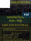 2012 Misdirection Run Pass