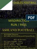 2012 Misdirection Run Pass