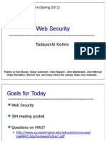 Web Security 2013