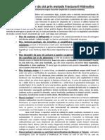Metoda Fracturarii Hidraulice o Metoda Pe Care Nu as Oferi o Nici La Nazisti
