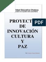 Proyecto de Innovacion Cultura y Paz