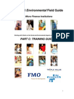 FMO ES for MFIs PartC Training Guide