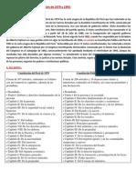 Diferencia entre la constitucion de 1979 y 1993 del Perú
