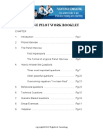 Pilot Interview Work Booklet