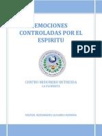 Sanidad Interior Emociones Controladas Por El Espiritu