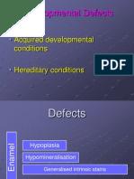 9. Developmental Defects