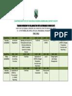 Citn Arthurgreen Workshop Time Table