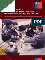Guia Pra Ctica Cli Nica Trastornos Espectro Autista MINSAL 2011
