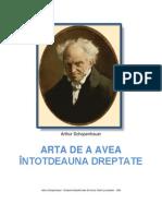 Arthur Schopenhauer - Arta de a Avea Intotdeauna Dreptate
