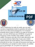 CAPÍTULO 20 ONDAS SONORAS