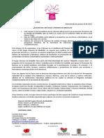 Comunicado 010 - Clausura XXI Juego Literario de Medellín
