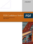 FDI Confidence Index