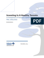 Investing in a Healthy Toronto