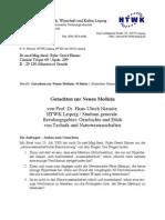 Germanisch Neue Medizin Gutachten