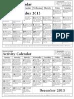 educational calendar11 12 2013