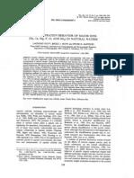 Ultrafiltration Behavior