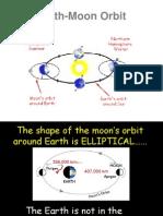 moons orbit tides  eclipses