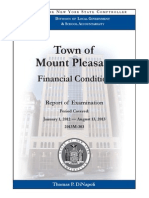 Mount Pleasant Audit