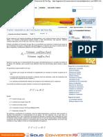 Factor Volumétrico de Formación del Gas Bg