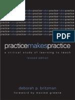 Practice Makes Practice Britzman