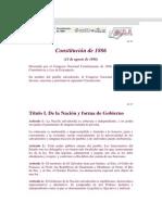 Constitucion de 1886