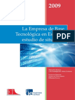 La empresa de base tecnológica en España