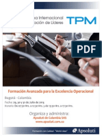 folleto curso TPM