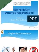 Modulo 2. Gestión Humana y Desarrollo Organizacional.